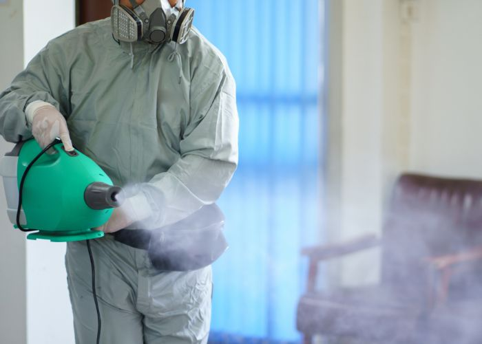 Disinfecting and sanitization service